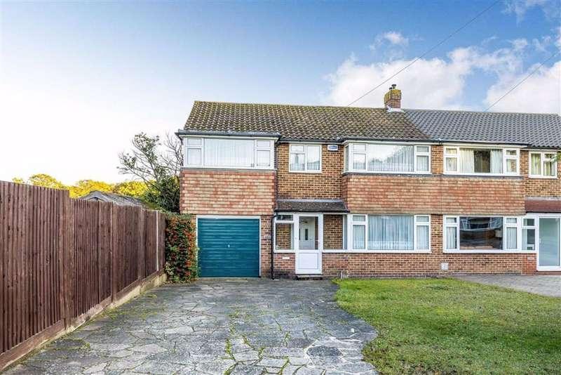 4 Bedrooms Semi Detached House for sale in Fairoak Close, Petts Wood, Kent