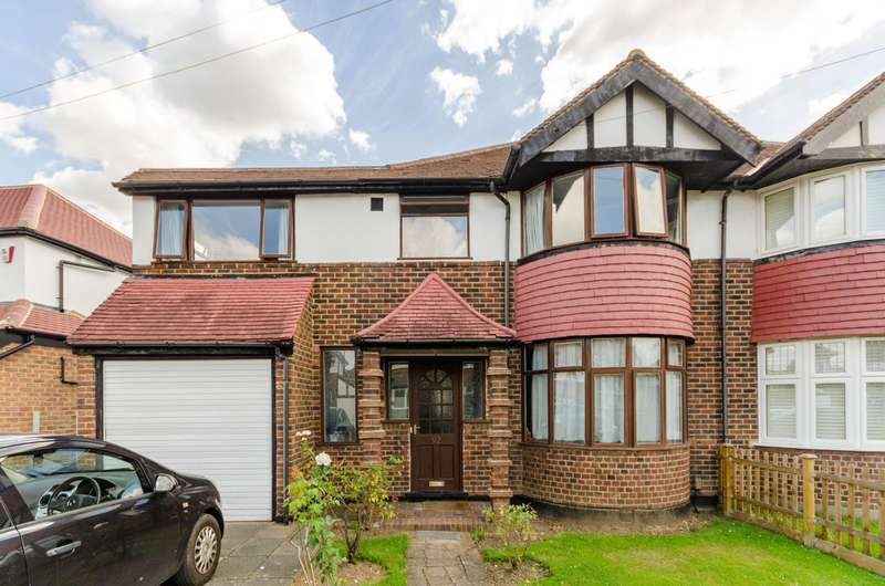 5 Bedrooms Semi Detached House for rent in Chiltern Drive, Berrylands, KT5