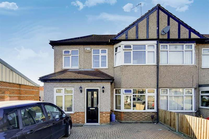 5 Bedrooms End Of Terrace House for sale in Ramsden Drive, Romford , Essex, RM5 2NJ