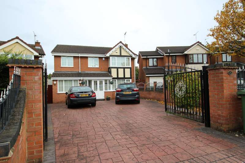 6 Bedrooms Detached House for sale in Tewkesbury Drive, Bedworth, Warwickshire, CV12