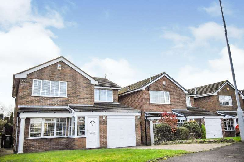 4 Bedrooms Detached House for sale in Brecon Crescent, Ashton-under-Lyne, Greater Manchester, OL6