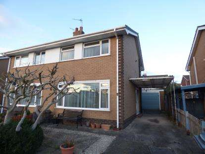 3 Bedrooms Semi Detached House for sale in Bryn Fynnon, Llandudno Junction, Conwy, North Wales, LL31