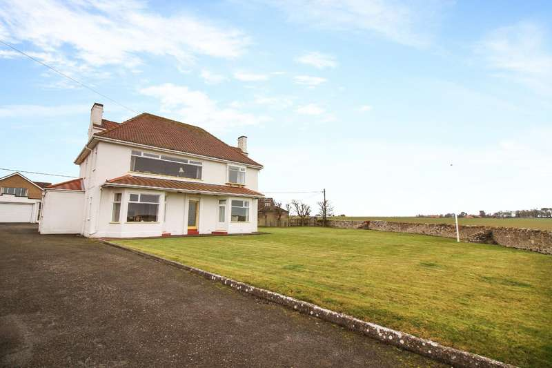4 Bedrooms Detached House for sale in St. Aidans, Fell House, Seahouses