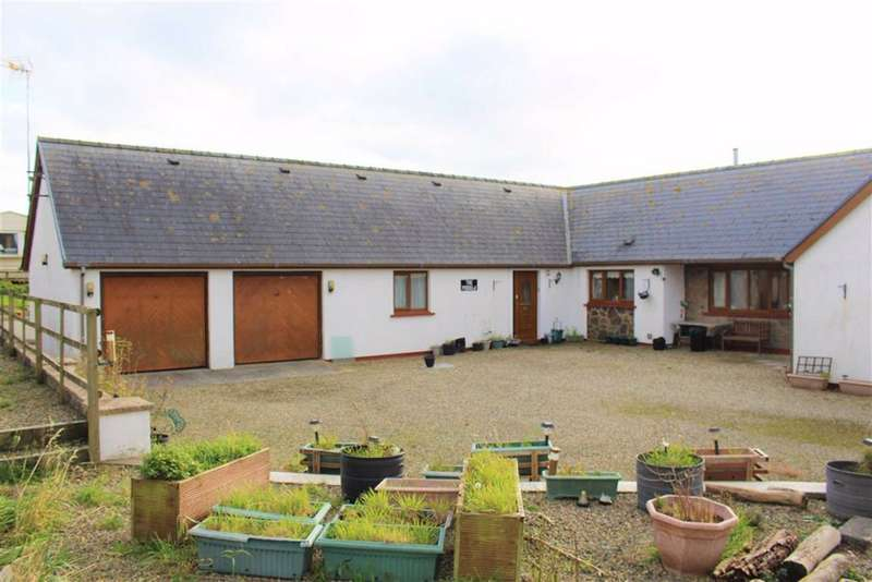 6 Bedrooms Detached Bungalow for sale in Wallaston Green, Hundleton, Pembroke