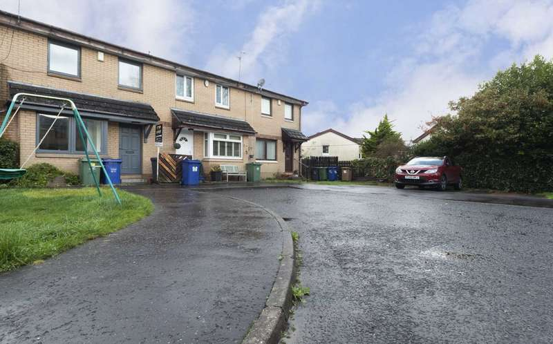 2 Bedrooms Terraced House for rent in Glencoats Drive, Paisley
