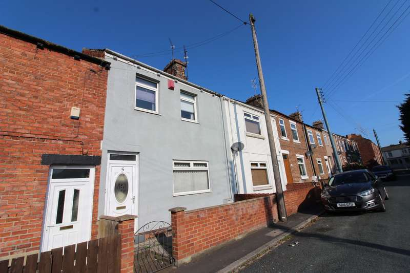 3 Bedrooms Terraced House for rent in Hall Terrace, Willington, DL15