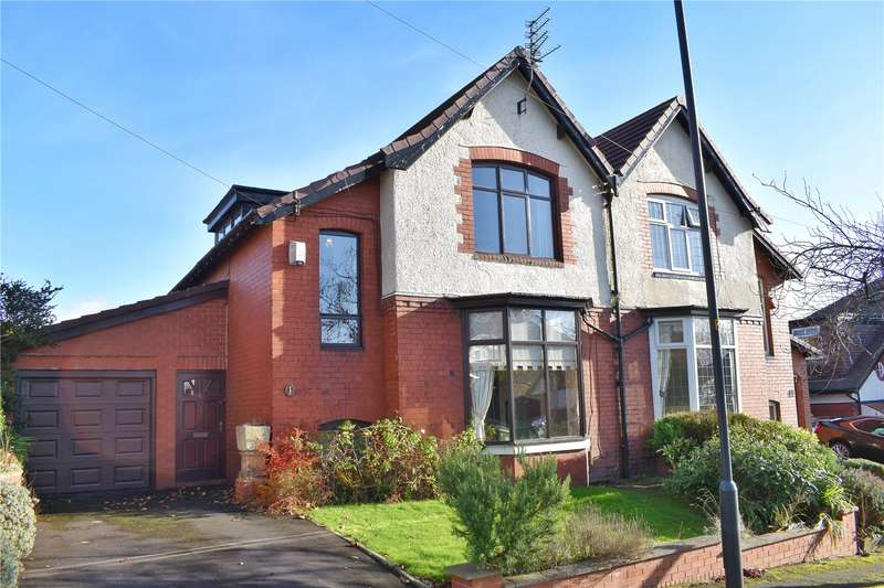 2 Bedrooms Semi Detached House for sale in Southway, Garden Suburb, Oldham, Greater Manchester, OL8
