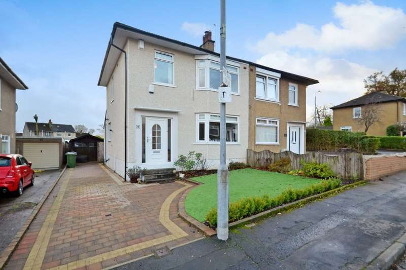 3 Bedrooms Semi Detached House for sale in Rockall Drive, Simshill, G44