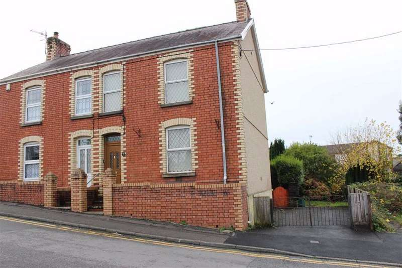 3 Bedrooms Semi Detached House for sale in Hill Street, Gowerton