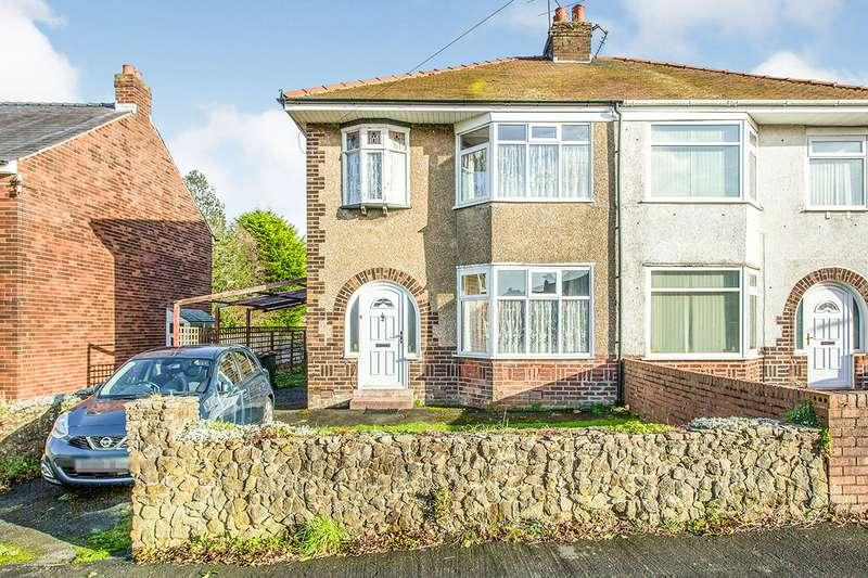 3 Bedrooms Semi Detached House for sale in Jubilee Avenue, Lea, Preston, Lancashire, PR2