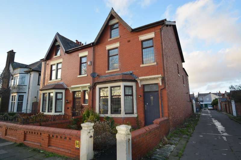 5 Bedrooms Semi Detached House for sale in Arnold Avenue, Blackpool, FY4 3EP