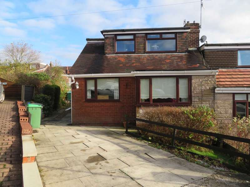 3 Bedrooms Semi Detached Bungalow for sale in South Down Close, Shaw