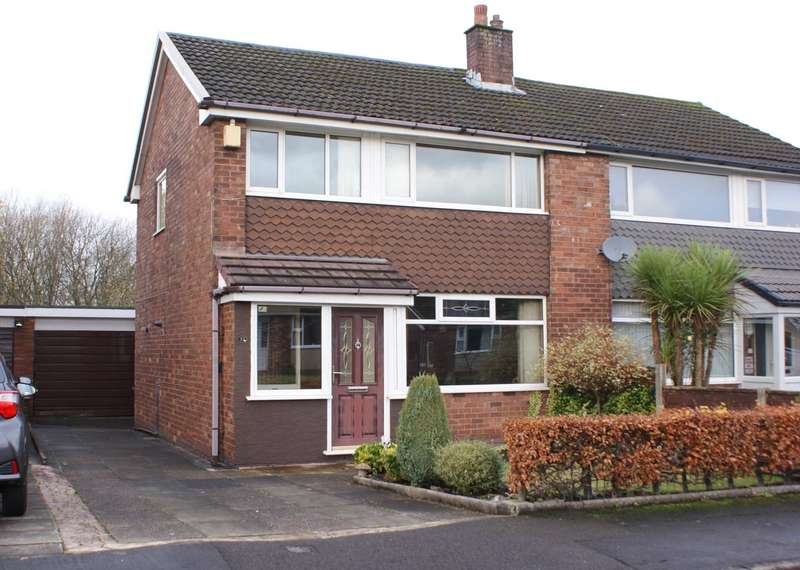 3 Bedrooms Semi Detached House for sale in Sandford Close, Harwood