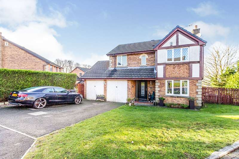 4 Bedrooms Detached House for sale in Balfour Close, Brierfield, Nelson, Lancashire, BB9