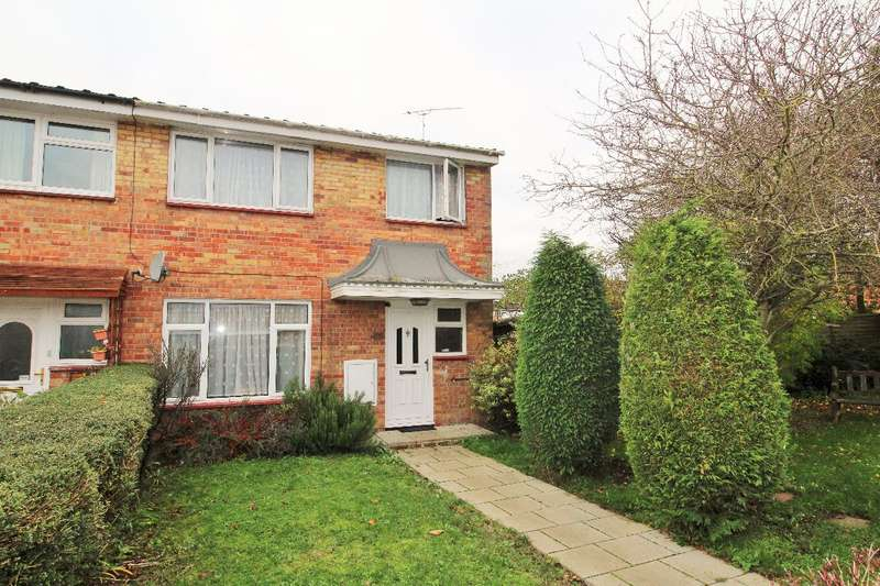 3 Bedrooms End Of Terrace House for sale in Foxglove Close, Witham