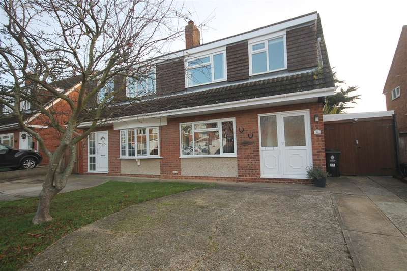 2 Bedrooms Semi Detached House for sale in Oakleigh Road, Great Clacton