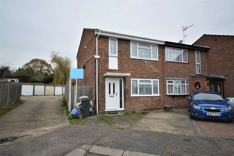 3 Bedrooms End Of Terrace House for sale in Warwick Close, Braintree, CM7