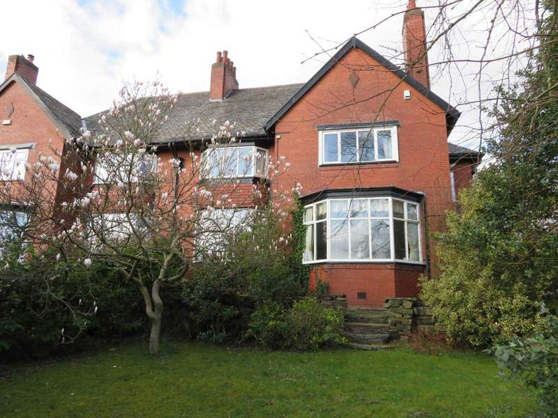 4 Bedrooms Semi Detached House for sale in Oakfield, Rochdale Road, High Crompton, Shaw