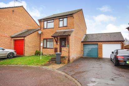 3 Bedrooms Link Detached House for sale in Ash Close, Norman Hill, Dursley, Gloucestershire