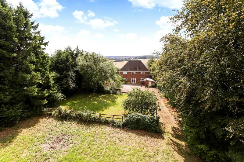 4 Bedrooms Detached House for sale in Gravel Lane, Four Marks, Alton, Hampshire, GU34