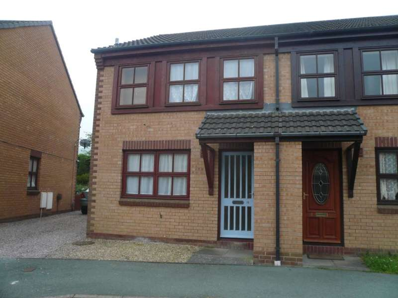 3 Bedrooms Semi Detached House for rent in 16 Dolfach, Newtown, Powys, SY16 1LL