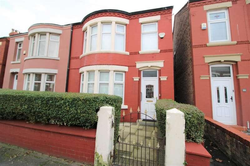 3 Bedrooms Semi Detached House for sale in Kelvinside, Crosby, Liverpool