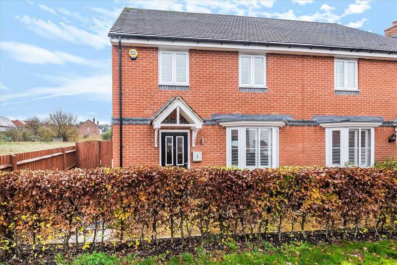 4 Bedrooms Semi Detached House for sale in Locksbridge Road, Andover