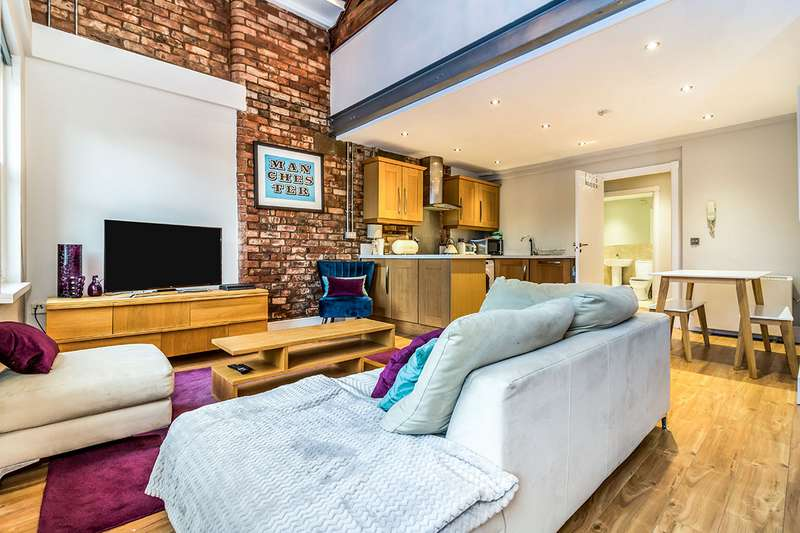 2 Bedrooms Apartment Flat for sale in Liberty House, 75-77 Thomas Street, Manchester, Greater Manchester, M4