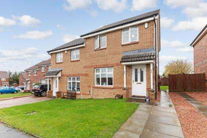 3 Bedrooms Semi Detached House for sale in Macfarlane Crescent, Cambuslang, Glasgow, South Lanarkshire