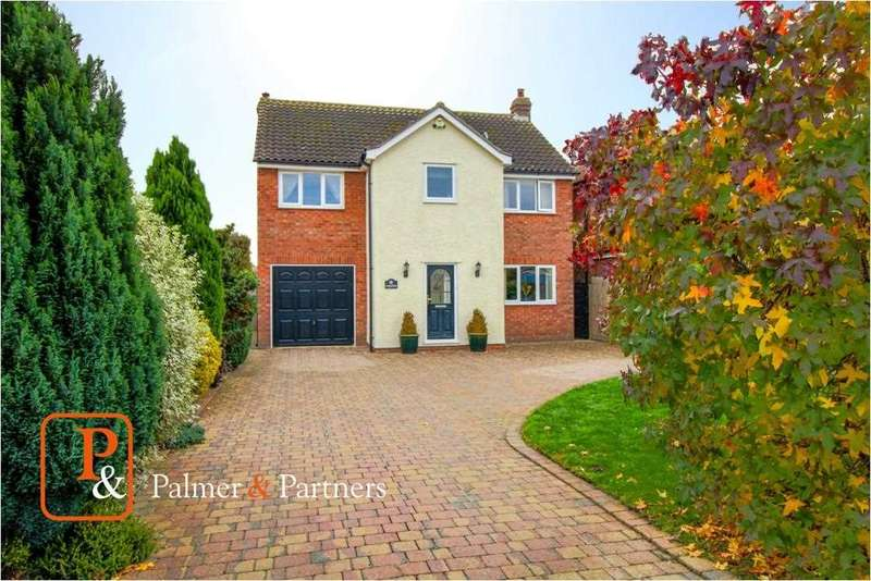 4 Bedrooms Detached House for sale in Charnwood, Main Road, Wormingford, Colchester CO6