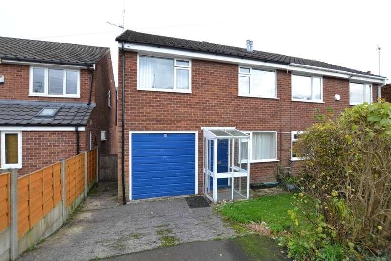 3 Bedrooms Semi Detached House for rent in Renfrew Close, , Macclesfield, SK10 3ER