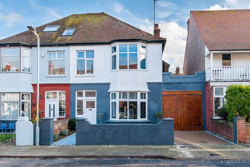4 Bedrooms Semi Detached House for sale in Westcliff Road, Margate, CT9