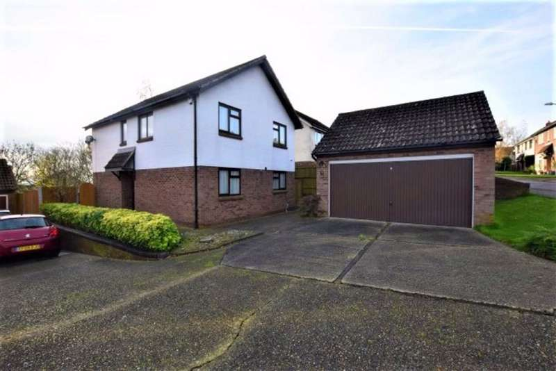 4 Bedrooms Detached House for sale in Mountfields, Basildon, Essex