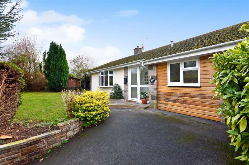 3 Bedrooms Detached Bungalow for sale in Haymeadow Lane, Burghill, Hereford