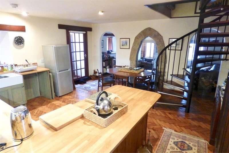 4 Bedrooms Link Detached House for sale in Leece, Ulverston, Cumbria, LA12 0QP