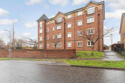 2 Bedrooms Flat for sale in Rigby Drive, Glasgow, Lanarkshire