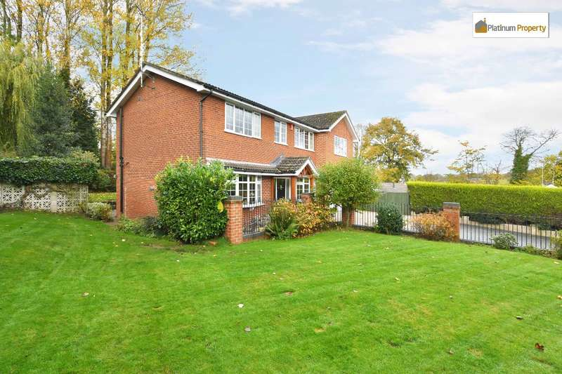 5 Bedrooms Detached House for sale in Uttoxeter Road, Blythe Bridge, Stoke-on-Trent, ST11 9HQ