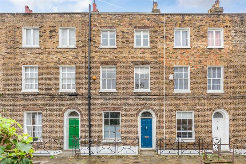 4 Bedrooms Terraced House for rent in Nelson Terrace, Angel, N1