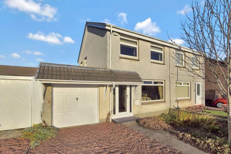 3 Bedrooms Semi Detached House for sale in Auchinlea Drive, Motherwell, ML1