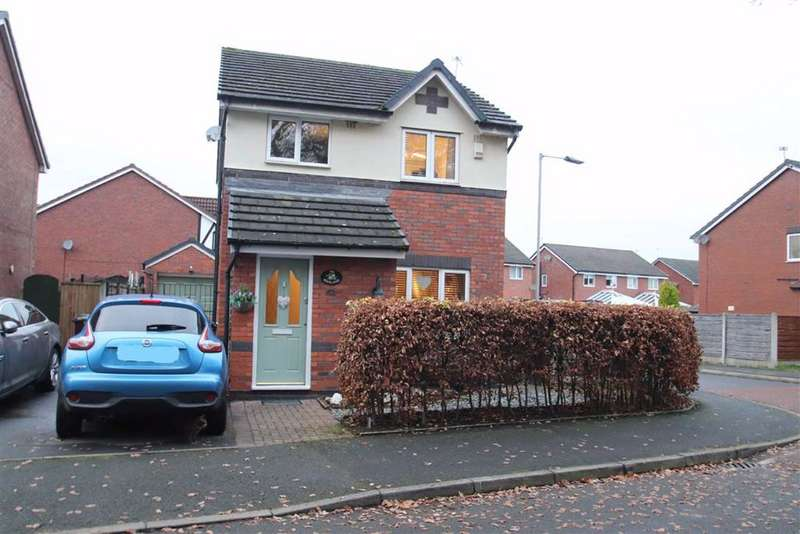 3 Bedrooms Detached House for sale in Haslington Road, Peel Hall Estate, Wythenshaw