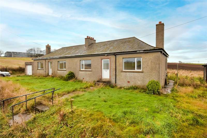2 Bedrooms Semi Detached House for sale in 2 Auchlinn Cottages, Fisherie, Turriff, AB53