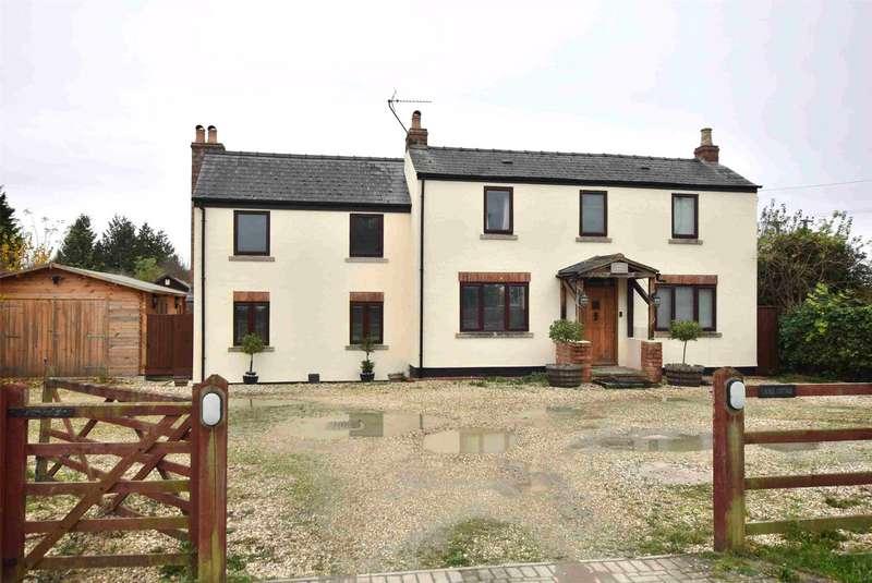 4 Bedrooms Detached House for sale in Bamfurlong Lane, Cheltenham, Gloucestershire, GL51