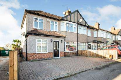 4 Bedrooms End Of Terrace House for sale in Collier Row, Romford, Havering