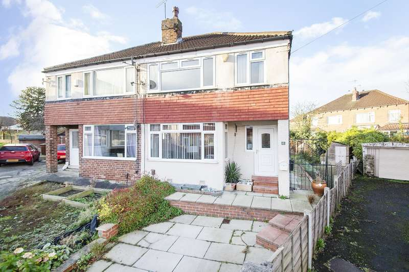 3 Bedrooms Semi Detached House for sale in Foxwood Avenue, Leeds, West Yorkshire, LS8 3BL