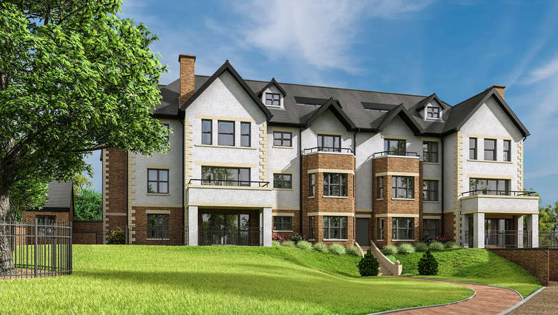 3 Bedrooms Flat for sale in Apartment 14, The Mount, North Avenue, Ashbourne