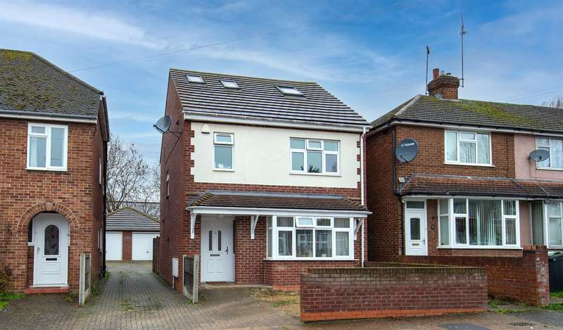 4 Bedrooms Detached House for sale in Anstee Road, Luton