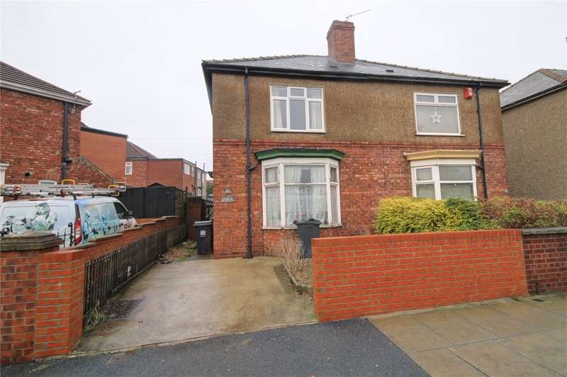 2 Bedrooms Semi Detached House for sale in Thompson Street East, Darlington, DL1