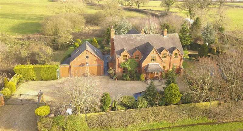 7 Bedrooms Detached House for sale in Moss Lane, Yarnfield, Stone