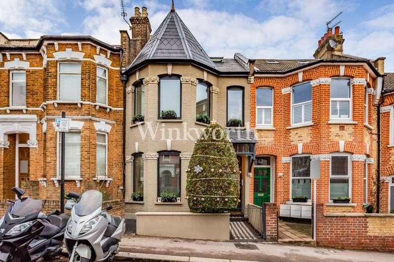 5 Bedrooms Terraced House for sale in Duckett Road, Harringay Ladder, London, N4