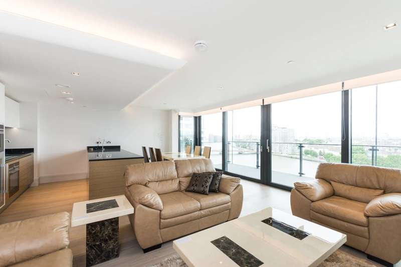 2 Bedrooms Flat for sale in Merano Residences, Albert Embankment, Vauxhall, SE1